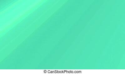 groen en blauwe, retro, lijnen, looping, achtergrond, twee