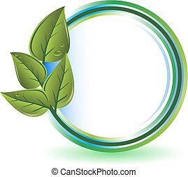 groene, concept, ecologie