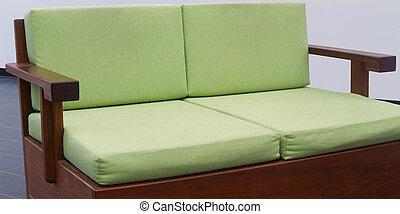 groene, daybed, bankstel