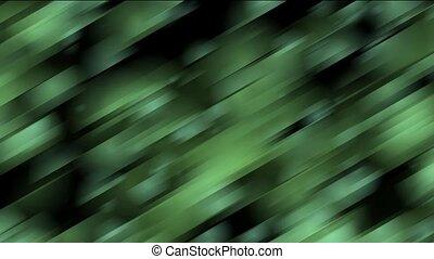 groene, geneigd, stroken, metaal