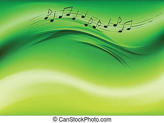 groene, muziek