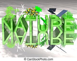 groene, natuur