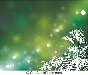 groene, natuurlijke