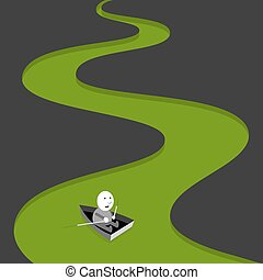 groene rivier