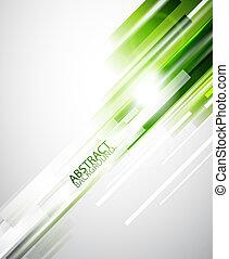 groene samenvatting, lijnen, achtergrond