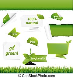 groene, set, ecologie