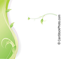 groene, spandoek, achtergrond