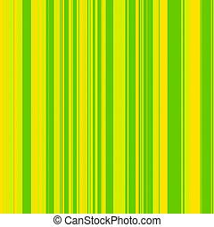groene, strepen, gele