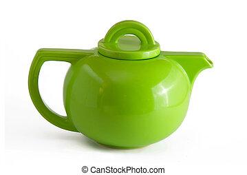 groene, theepot