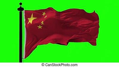 groene vlag, china