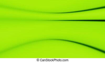 groene, vloeiend, zacht, abstract, lus