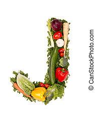 groente, brief