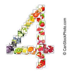 groente, fruit, brief