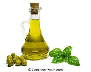 groente, olijvenolie
