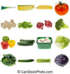 groente, verzameling