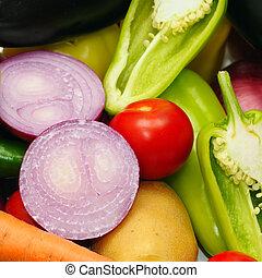 groentes, achtergrond