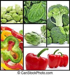 groentes, collage