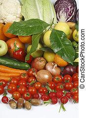 groentes, en, fruit