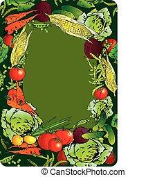 groentes, frame.