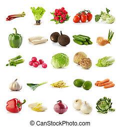 groentes, gevarieerd