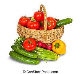 groentes, in, mand