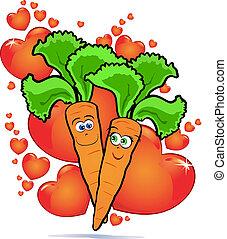 groentes, liefde