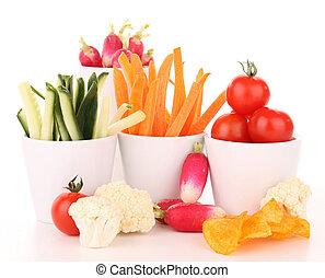 groentes, op wit