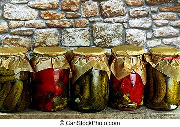 groentes, pickled