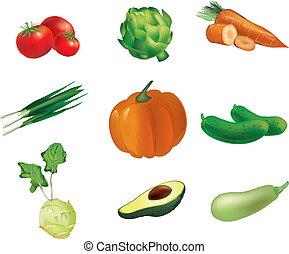 groentes, set
