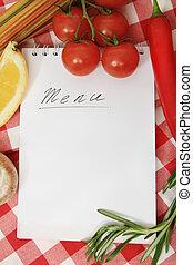 groentes, stilleven, met