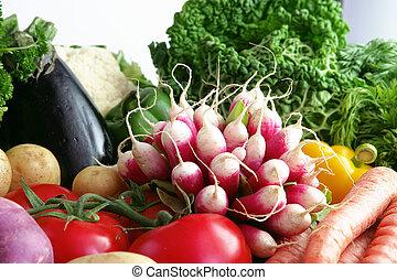 groentes, variëteit