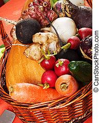 groentes, wortel