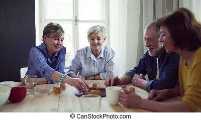 groep, centrum, mensen, club, gemeenschap, plank, senior,...