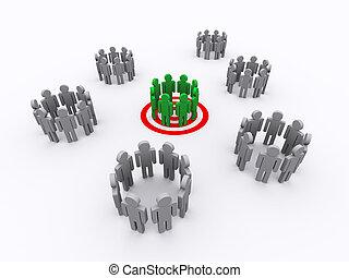 groep, doel, mensen