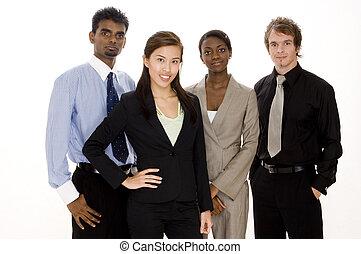 groep, handel team
