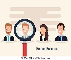 groep, menselijke hulpbronnen, mensen