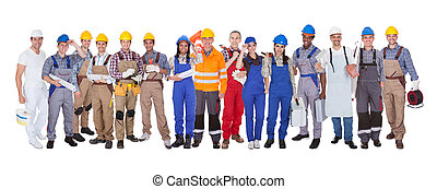 groep, van, bouwpersoneel