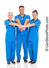 groep, van, gezondheidszorg deskundigen