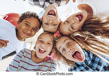 groep van kinderen
