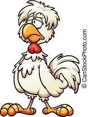 Groggy chicken