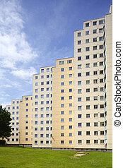 GrohnerDuene16j035.JPG - Hochhaus, Groner Düne, Bremen,...
