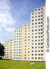 GrohnerDuene16j036.JPG - Hochhaus, Groner Düne, Bremen,...