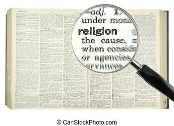 grondig, voor, religie