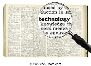 grondig, voor, technologie