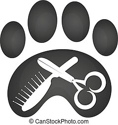 Grooming animal symbol