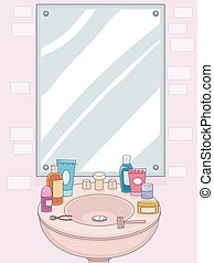 Grooming Mirror Woman Products