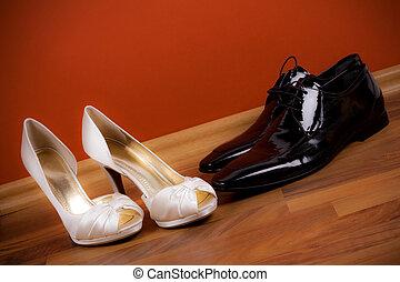 groom\'s, 靴, bride\'s