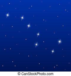 groot, beer, constellatie
