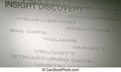 groot, concept, data, animatie