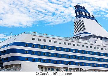 groot, de cruise van het schip